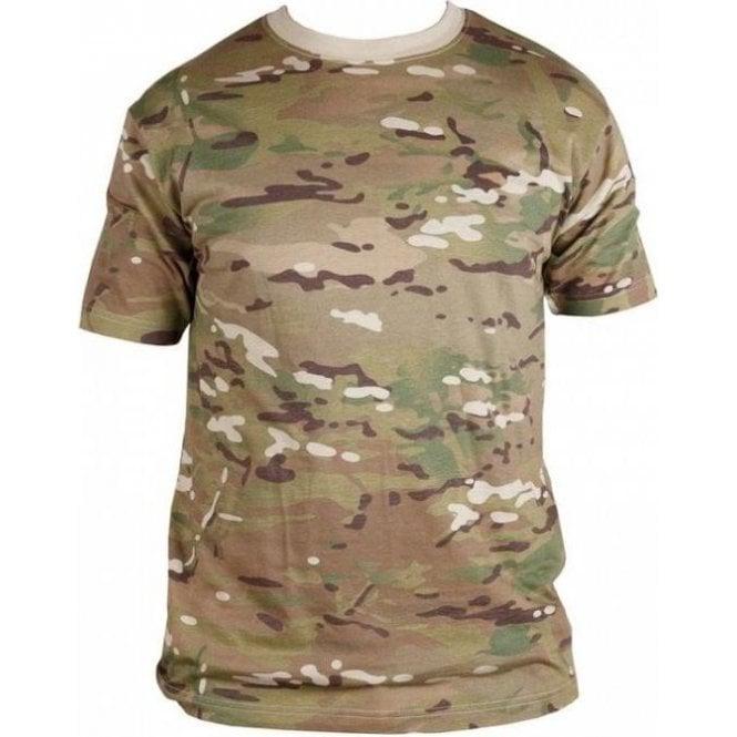 Kombat British Terrain Pattern Multicam T-Shirt