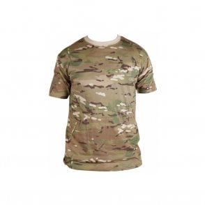 British Terrain Pattern Multicam T-Shirt