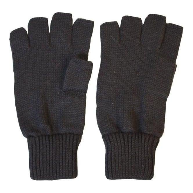 Kombat Fingerless Gloves (not lined) - Black