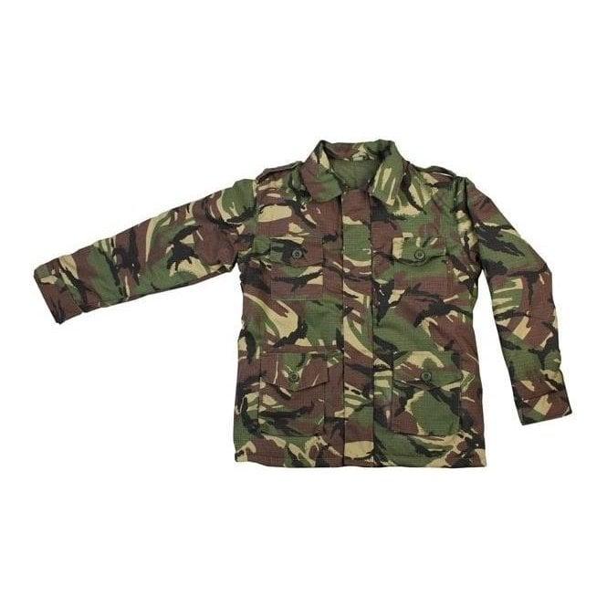 Kombat Kids Camo Woodland Safari Jacket