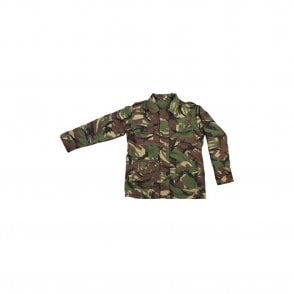 Kids Camo Woodland Safari Jacket