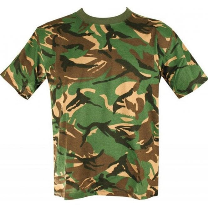 Kombat Kids DPM Woodland T-Shirt
