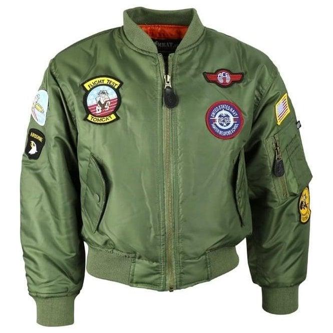 Kombat Kids MA1 Flight Jacket
