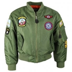 Kids MA1 Flight Jacket