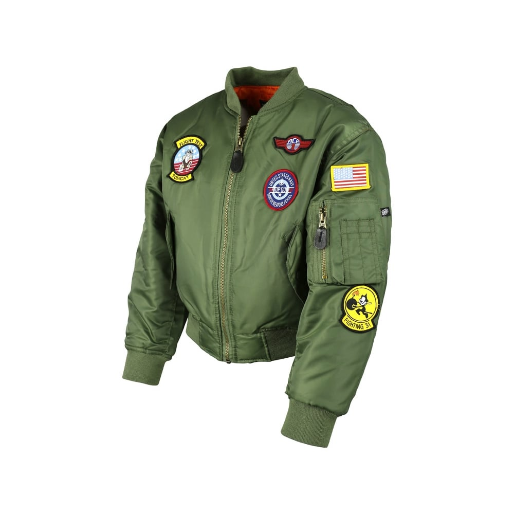0d3db930b Kombat Kids MA1 Flight Jacket - Army Clothing from Army And Navy ...