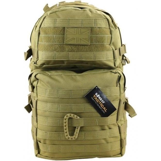 Kombat Medium Molle 40L Coyote Assault Pack