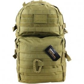 Medium Molle 40L Coyote Assault Pack