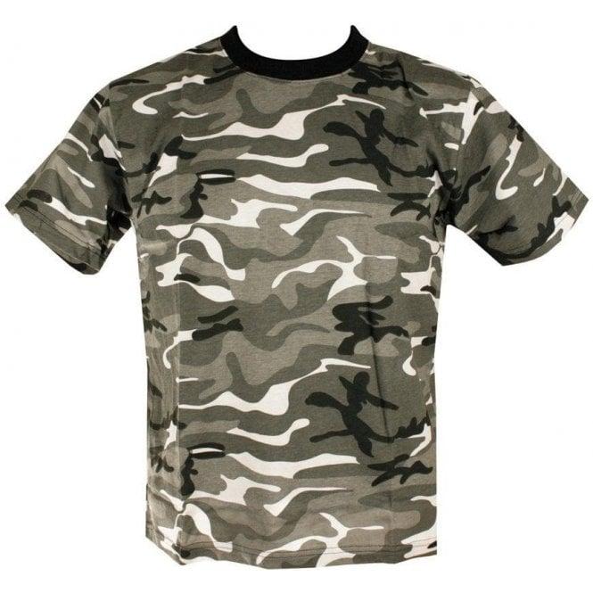Kombat Mens Urban Camo Military/Army T-shirt 100% Cotton