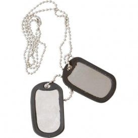 Military Dog Tags With Silencers
