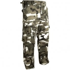 Military Style Urban Camouflage Trousers