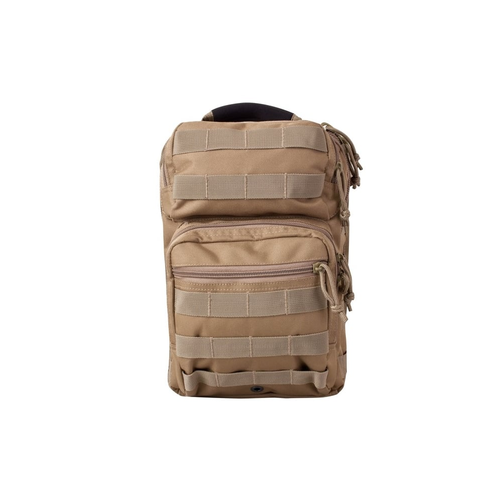 KOMBAT MINI MOLLE RECON SHOULDER BAG 10 LITRE ARMY MILITARY RUCKSACK BACKPACK