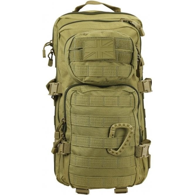 Kombat Small Molle Assault Pack 28L Coyote