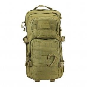 Small Molle Assault Pack 28L Coyote