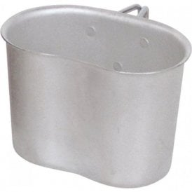 Survival - Camping - Hunting -GI Style Kidney Bean Shape 1 Litre Alloy Mug