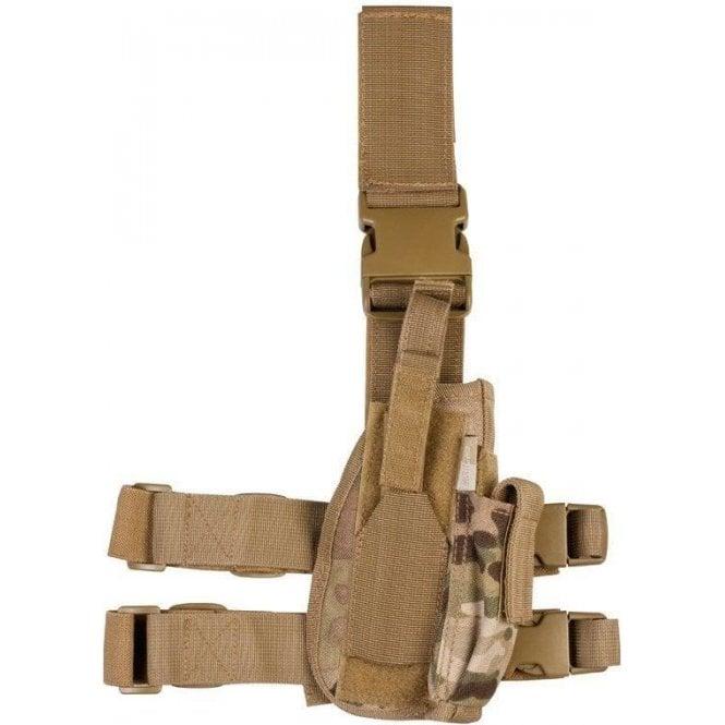 Kombat Tactical Gun Leg Holster Multicam