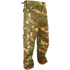 Woodland DPM Military Style Combat Trousers