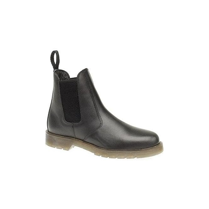 Grafters Mens Grafters Leather Dealer Boots with Aircushion sole