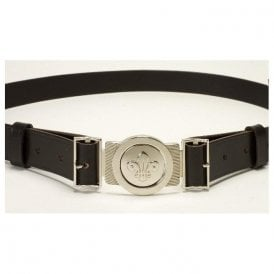 Official Leather Scout Belt With Fleur-de-lis Buckle