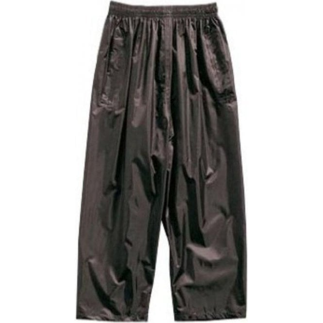 Regatta Black Kids Stormbreak Packaway Waterproof Trousers