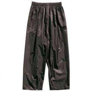 Black Kids Stormbreak Packaway Waterproof Trousers