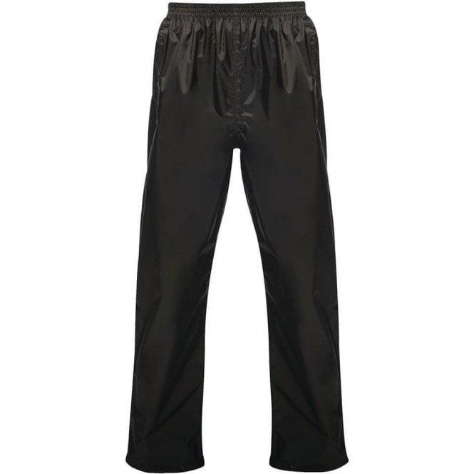 Regatta Black Pro Packaway Waterproof & Breathable Trousers
