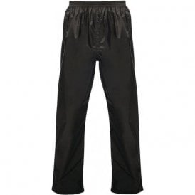 Black Pro Packaway Waterproof & Breathable Trousers