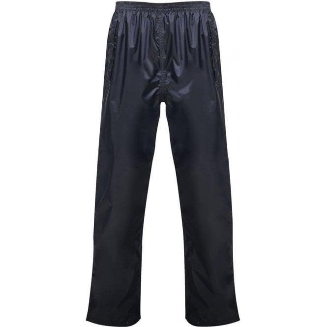 Regatta Navy Pro Packaway Waterproof & Breathable Trousers