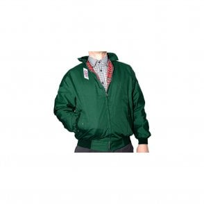 Bottle Green Harrington Jacket