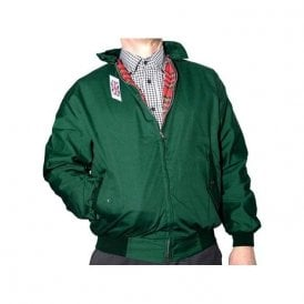 Bottle Green Harrington Jacket