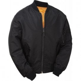 Classic Flight MA1 Bomber Jacket Navy