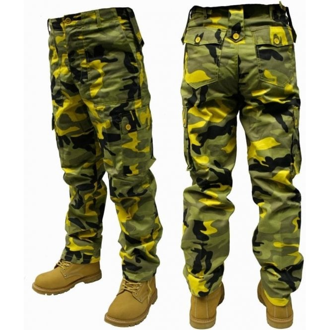 Relco Military Style Combat Trousers