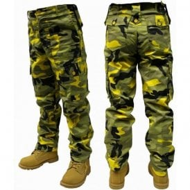 Military Style Combat Trousers