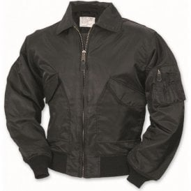 US Flight MA2 Bomber Jacket Black