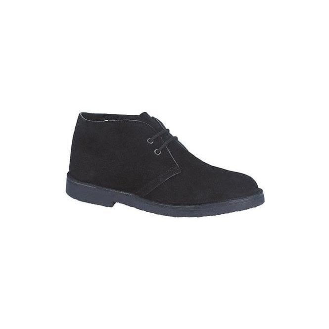 Roamers Black 2 Eye Desert Boots