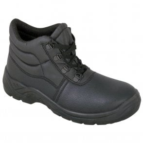 D-Ring Steel Cap Chukka Boot with Steel Midsole