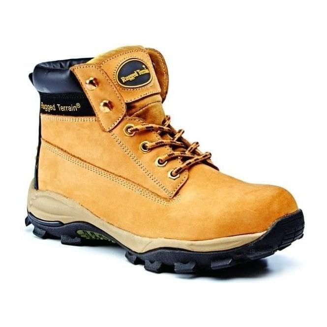 Rugged Terrain Hiker Style Safety Boot