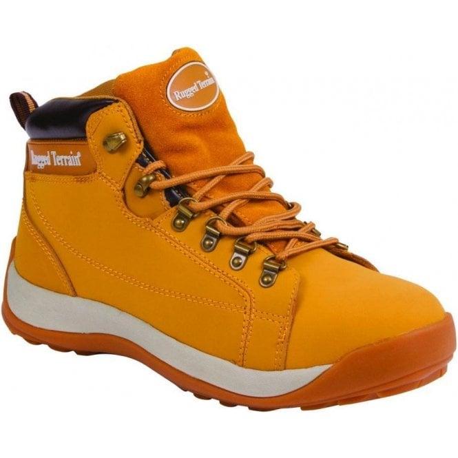 Rugged Terrain Honey Steel Cap Trainer Boot
