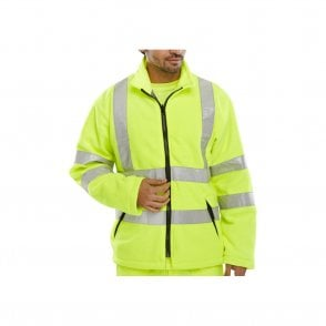 Yellow Hi-Vis High Visibility Fleece