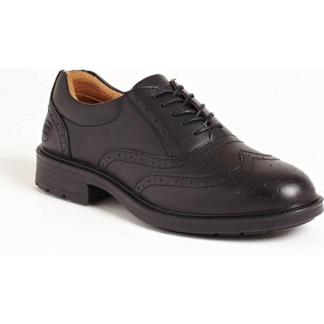 Sterling Executive Brogue Steel Cap Shoes