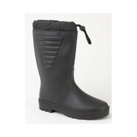 Black Tie Top Polar Boot