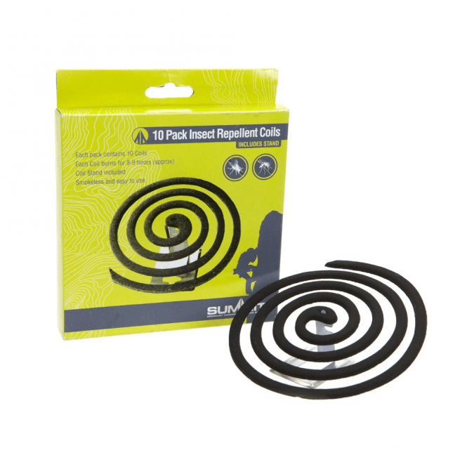 Summit 10 Pack Insect Mosquito Repellent Coil