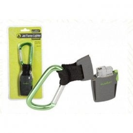 Jet Flame Lighter with Carabiner