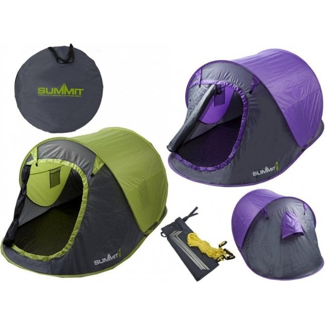 Summit Pop Up 2 Person Tent