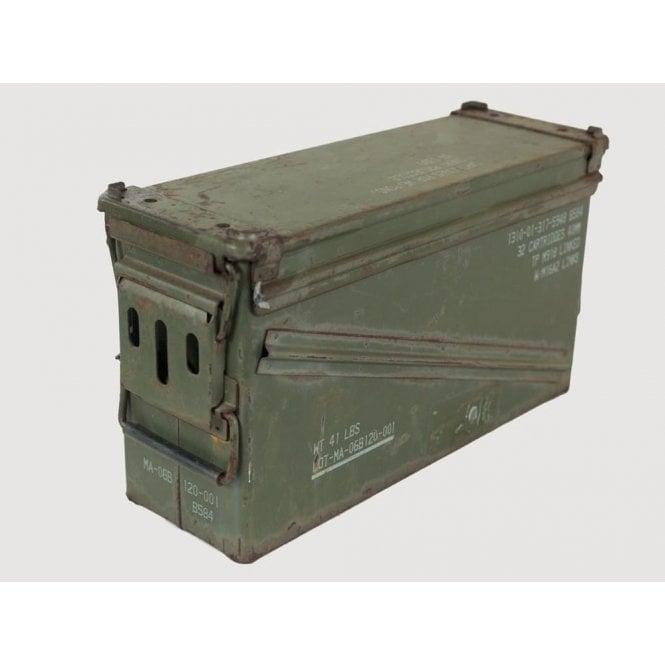 Surplus Genuine 40mm ammunition Ammo Box