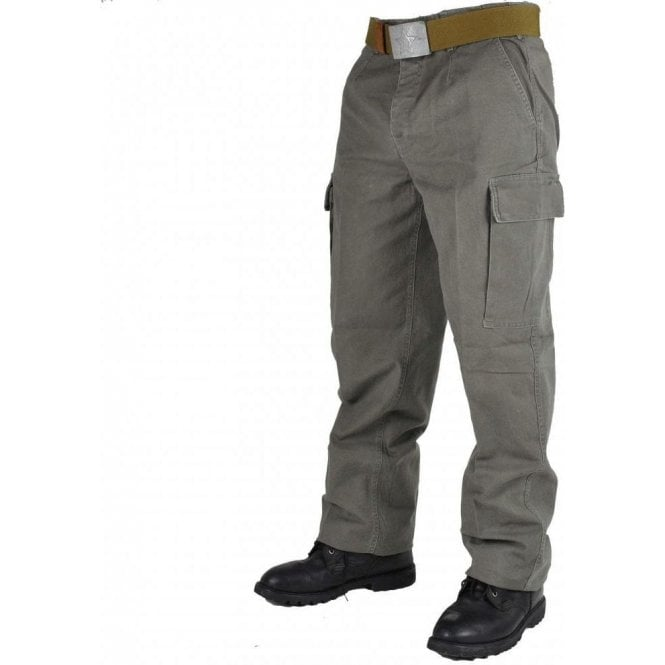 Surplus German Army Issue Moleskin Combat Trousers