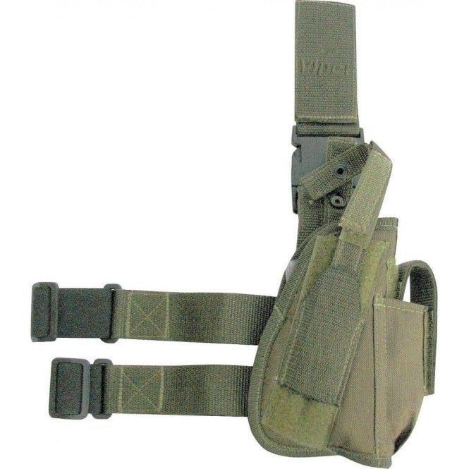 Viper Green Tactical Gun Leg Holster