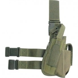 Green Tactical Gun Leg Holster