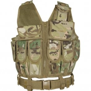L/A Special Forces Tactical Vest - VCam/Multicam