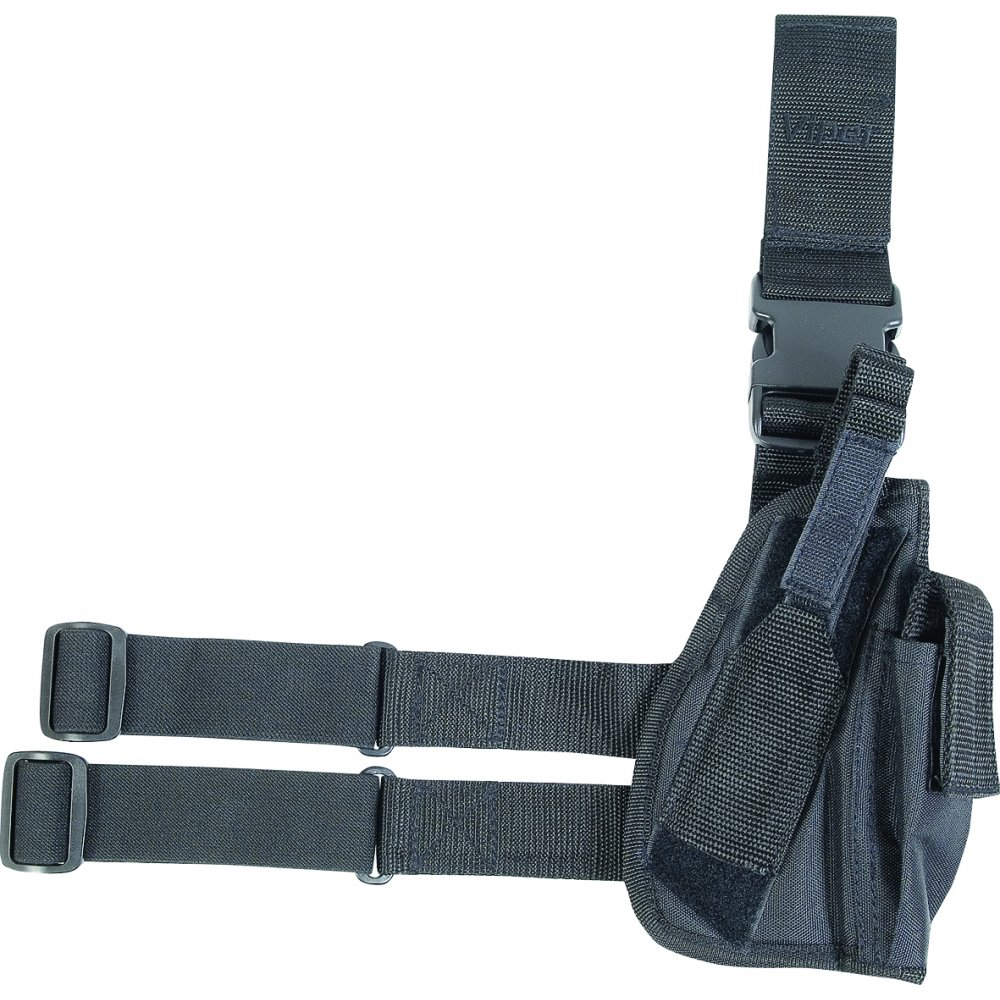 viper tactical gun leg holster black viper from army and navy stores uk. Black Bedroom Furniture Sets. Home Design Ideas