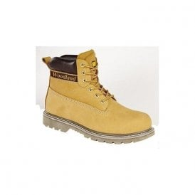 Honey Nubuck Lace Boots